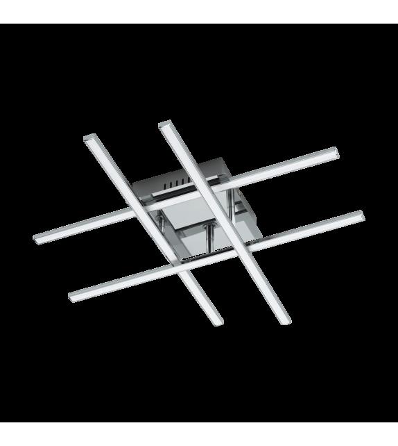 Plafoniera Lasana 95568 Eglo, LED, 24W, 2520lm, 3000k, crom