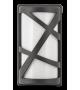 Aplica de exterior Durango - 8767 Rabalux, E27, 1x40W, gri antracit