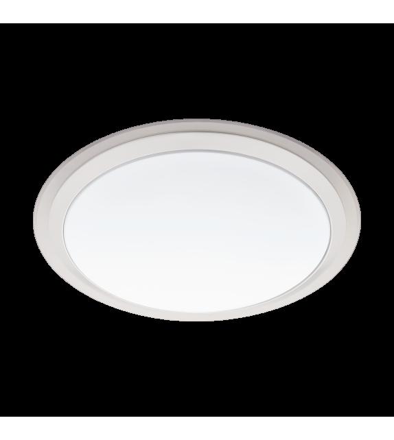 Plafoniera LED, Competa Eglo Connect, 96818, Alb-Argintiu, 17W, 2100lm