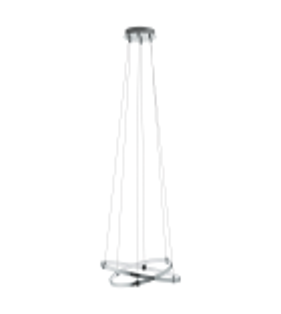 Pendul NEBREDA 96639 Eglo, LED, 15.4W, 1580lm, crom