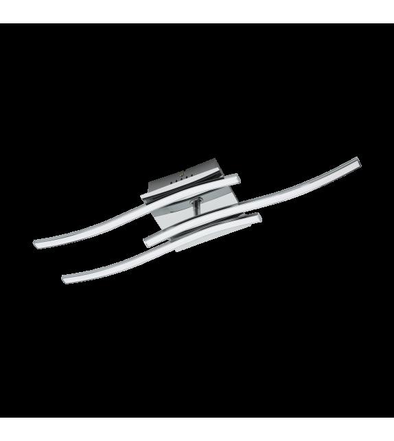 Plafoniera Valmora - 96326 Eglo, LED, 3x5W, 1410lm, crom