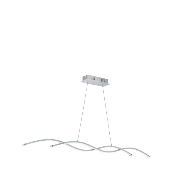 Pendul LASANA 96104 Eglo, LED, 2x14W, 3800lm, crom