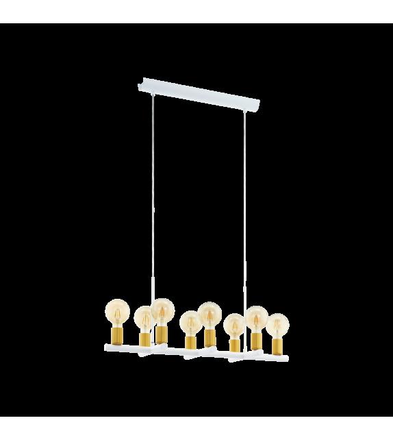 Pendul ADRI 97448 Eglo, E27, 8x60W, alb