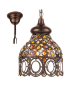 Pendul JADIDA 49765 Eglo, E27, 1x60W, cupru antichizat