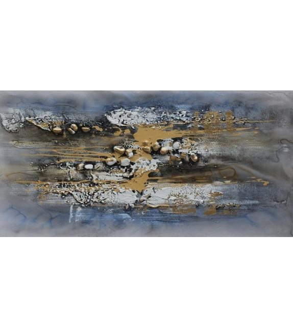 Tablou pictat manual Infinite, dimensiunea 60x120cm