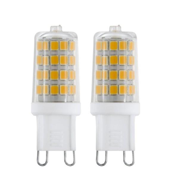 Set 2 Becuri LED G9, 11675 Eglo, 3W, 360lm, 4000K
