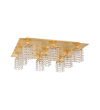 Plafoniera PYTON GOLD 97722 Eglo, G9, 9x3W, auriu