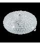 Plafoniera CLEMENTE 95285 Eglo, E27, 3x60W, crom