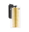 Aplica PINTO GOLD 97839 Eglo, E27, 1x40W, negru-auriu