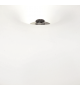 Lampadar OPTICA 86817 Eglo, E27, 2x60W, nichel satinat-alb