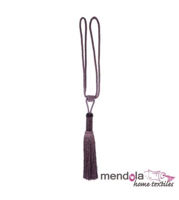 Ciucure draperie Mendola Home Textiles, 19/70cm, mov