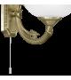 Aplica SAVOY 82751 Eglo, 1xE14, bronz, alb