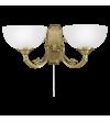 Aplica SAVOY 82752 Eglo, 2xE14, bronz, alb