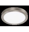 Plafoniera tip spot de suprafata Lois - 2661 Rabalux, D30, LED 24W, 1700lm, 3000k, crom satinat