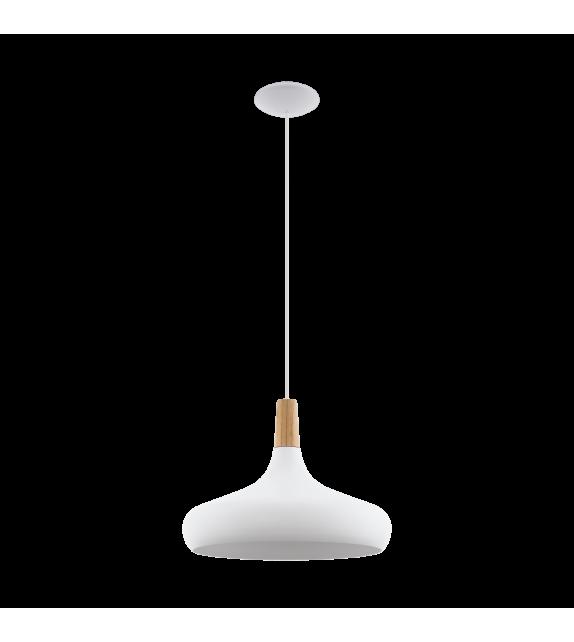 Pendul SABINAR - 96983 Eglo, E27, 1x60W, alb/maro