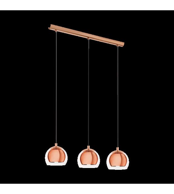 Pendul ROCAMAR - 94591 Eglo, E27, 3x40W, cupru