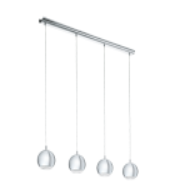 Pendul CONESSA - 95912 Eglo, GU10, 4x3.3W, crom