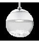 Pendul MONTEFIO - 93708 Eglo, LED 5W, 480lm, crom