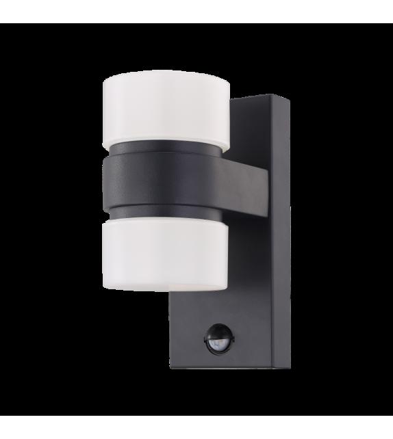 Aplica exterior ATOLLARI - 96276 Eglo, cu senzor de miscare, LED, 2x6W, 1000lm, aluminiu, antracit