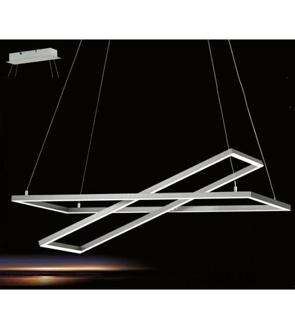 Pendul TAMASERA - 96815 Eglo, LED 35W, 4300lm, nichel satinat