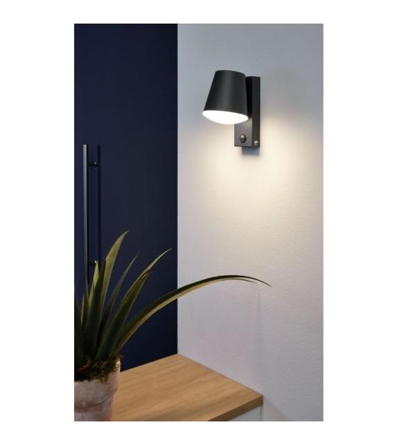 Aplica exterior cu senzor CALDIERO - 97451 Eglo, LED E27, 1x10W, antracit