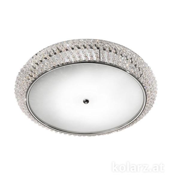 Plafoniera CARLA, KOLARZ Pure Crystals, D55, crom