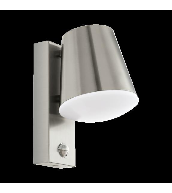 Aplica exterior cu senzor CALDIERO - 97453 Eglo, LED E27, 1x10W, otel inoxidabil