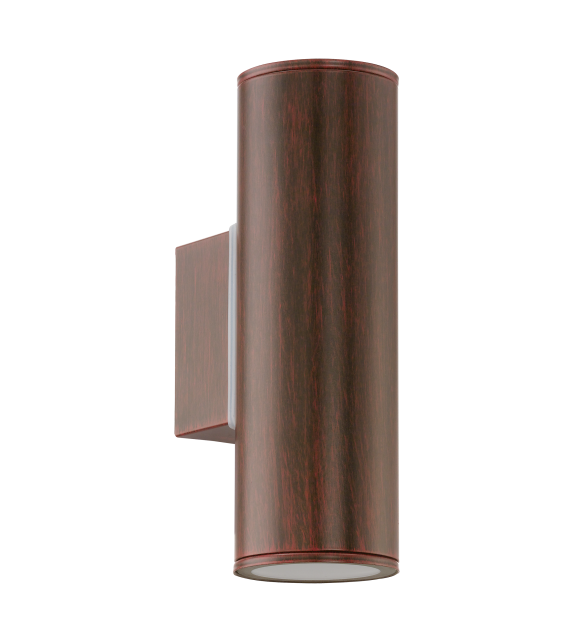 Aplica exterior RIGA - 94105 Eglo, LED GU10, 2x3W, maro antichizat