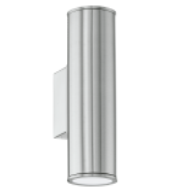 Aplica exterior RIGA - 94107 Eglo, LED GU10, 2x3W, otel inoxidabil