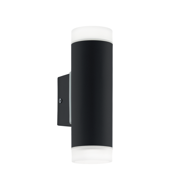 Aplica exterior RIGA - 96505 Eglo, LED GU10, 2x5W, 800lm, negru