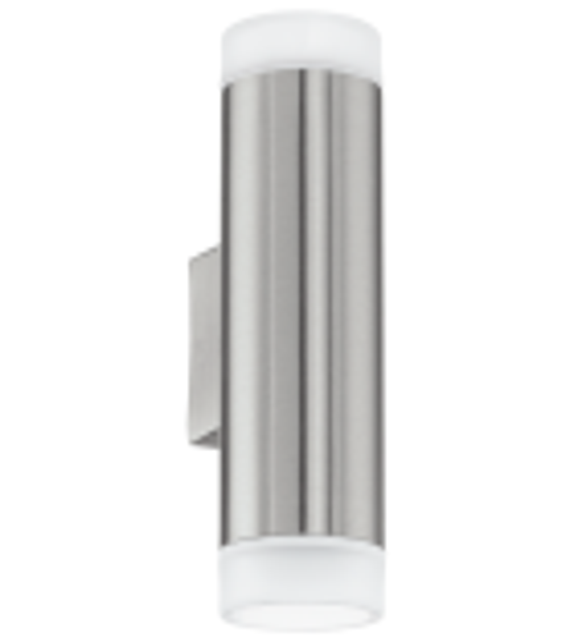 Aplica exterior RIGA - 92736 Eglo, LED GU10, 2x5W, 800lm, otel inoxidabil