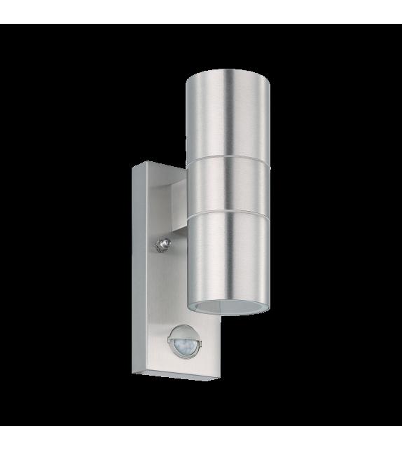 Aplica exterior cu senzor RIGA - 32898 Eglo, LED GU10, 2x3W, 480lm, otel inoxidabil