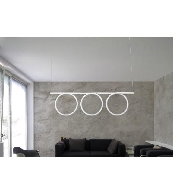 Pendul Donatella - 2548 Rabalux, LED 60W, alb-crom
