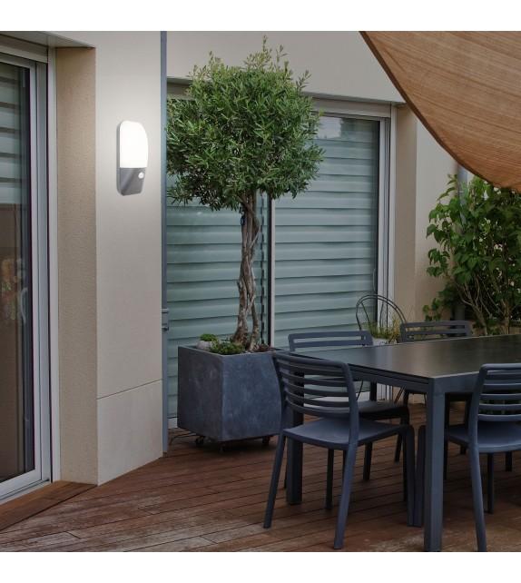 Aplica exterior cu senzor ECUADOR 7997 Rabalux, LED 11W, 800lm, IP54, gri antracit-alb