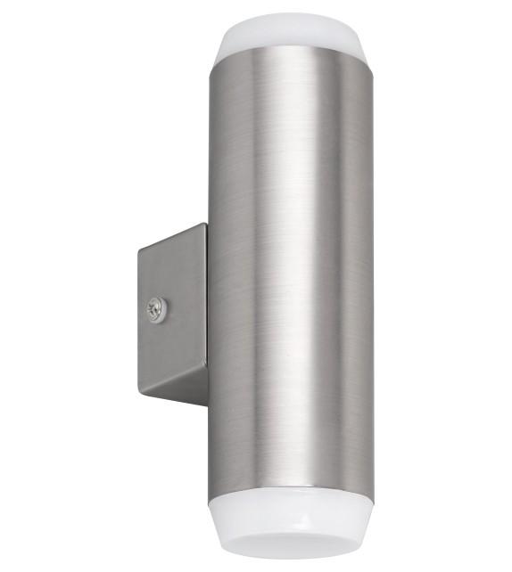 Aplica exterior CATANIA 8938 Rabalux, LED 2x4W, 700lm, IP44, crom satinat