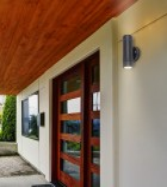 Aplica exterior MEDINA 8833 Rabalux, LED GU10, 2x10W, IP44, negru mat