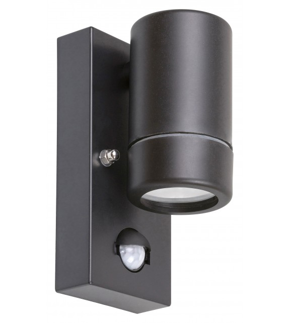 Aplica exterior cu senzor MEDINA 8834 Rabalux, LED GU10, 10W, IP44, negru mat