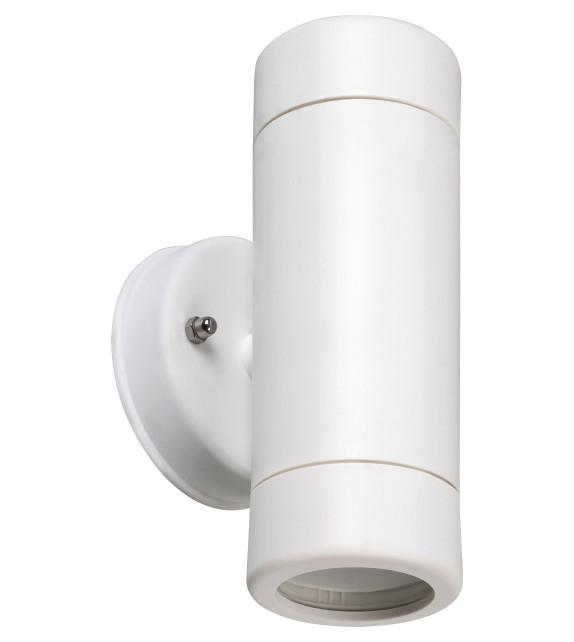 Aplica exterior MEDINA 8837 Rabalux, LED GU10, 2x10W, IP44, alb mat