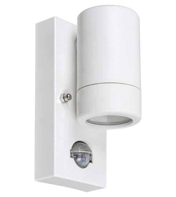 Aplica exterior cu senzor MEDINA 8838 Rabalux, LED GU10, 10W, IP44, alb mat