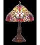 Veioza MIRELLA - 8090 Rabalux, E27, 1x60W, bronz, sticla tiffany