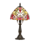 Veioza MIRELLA - 8089 Rabalux, E14, 1x40W, bronz, sticla tiffany