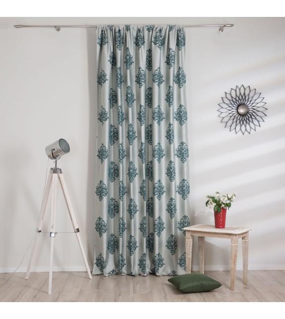 Material draperie decor Charm, latime 290cm, albastru