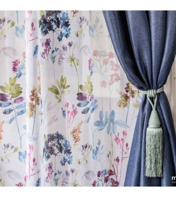 Material draperie decor Cheer, latime 280cm, albastru