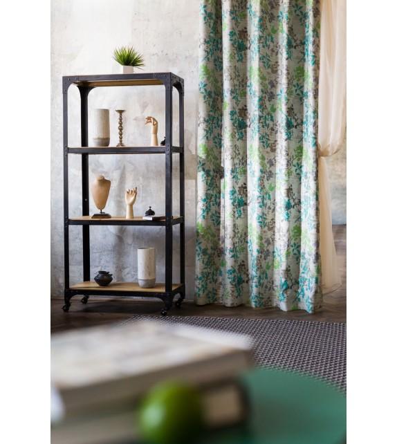 Material draperie decor Serenity, latime 280cm, verde