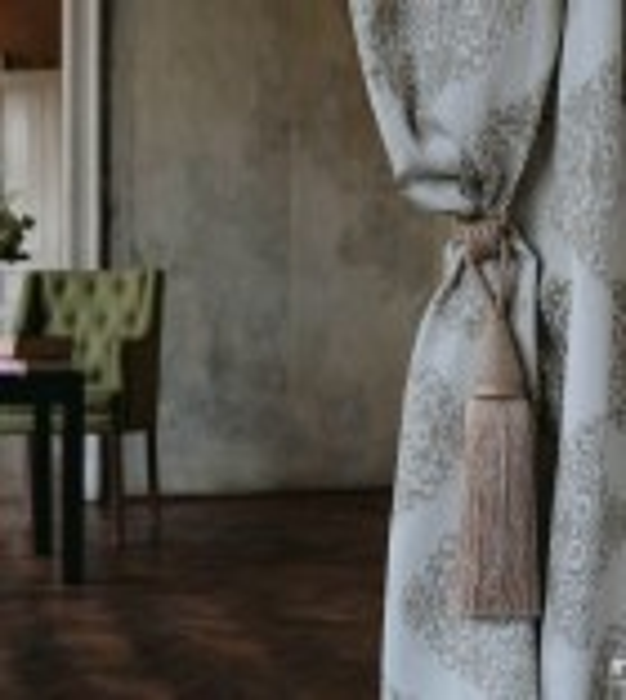 Metraj draperie cu decor GALLIANO, latime 280 cm, bej