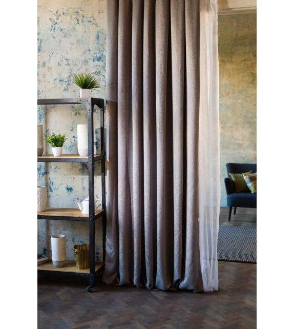 Material draperie decor Cora, latime 280cm, gri