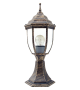 Stalp exterior pitic NIZZA 8453 Rabalux, E27, 1x60W, auriu antichizat