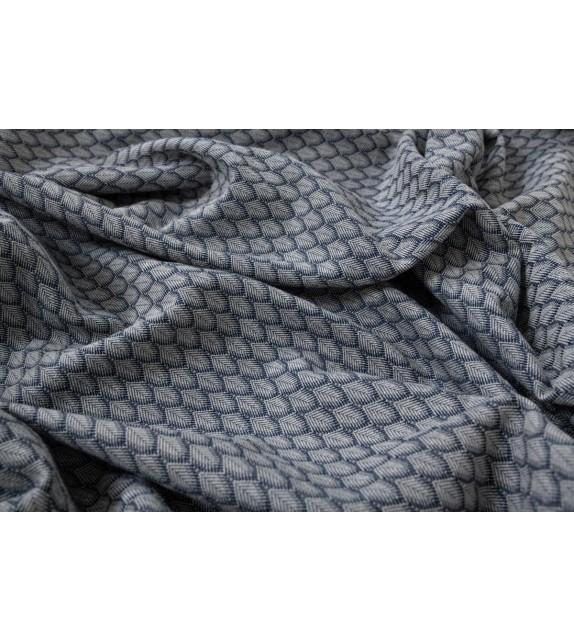 Material draperie Mendola decor Pena, latime 320cm, albastru