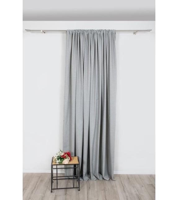 Material draperie Mendola decor Pena, latime 320cm, gri