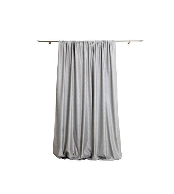 Material draperie Mendola decor Lumen, latime 288cm, argintiu